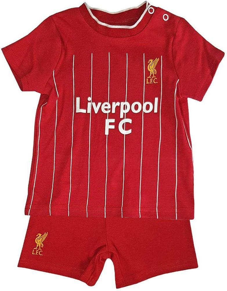 Saison 2019//20 FC Liverpool FC Baby//Kleinkind T-Shirt und Shorts Set