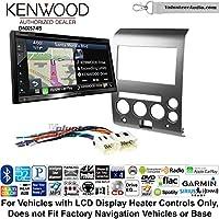 Volunteer Audio Kenwood DNX574S Double Din Radio Install Kit with GPS Navigation Apple CarPlay Android Auto Fits 2006-2007 Nissan Armada, Titan