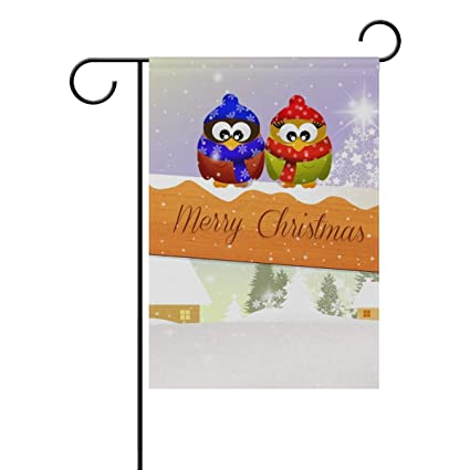 008460034c Amazon.com   SGBTJKU Premium Garden Flag 12 x 18 Inches Decorative Merry  Christmas Polyester Garden Flag House BannerYard Flags Holiday Seasonal  Outdoor ...
