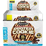 MuscleTech Soft Baked Whey Protein Cookie, Chocolate Chip, Gluten-Free, 3.25-Ounce (Pack of 6-92g)