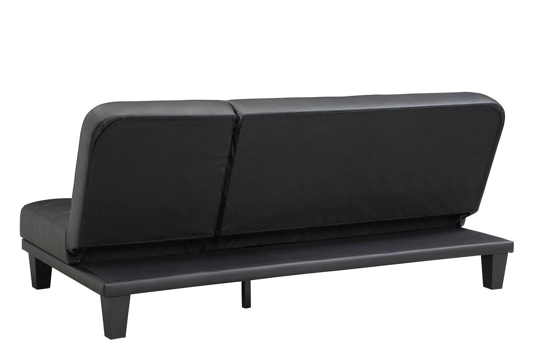 dhp metropolitan futon lounger  amazon in  home  u0026 kitchen  rh   amazon in