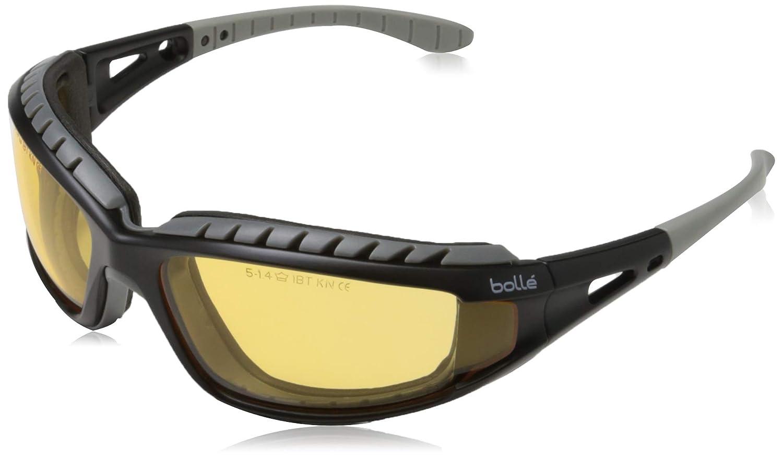 Bolle TRACPSJ Tracker - Gafas de seguridad, color amarillo