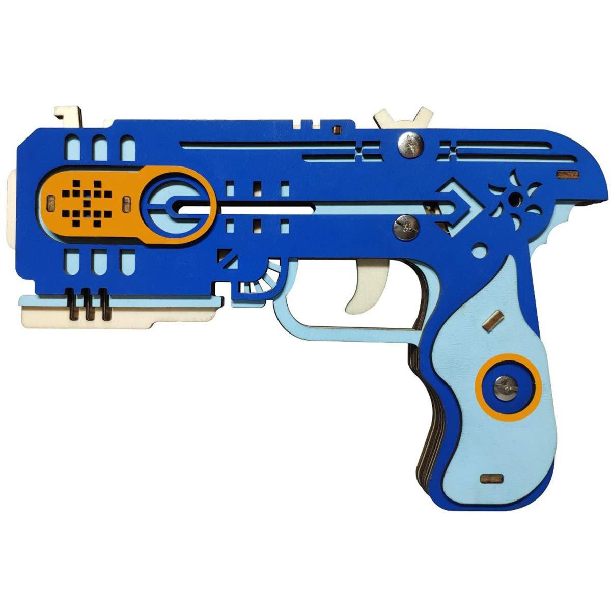 店舗良い btibpse Toy 3d木製パズルGun Toy B076VGLSMX btibpse for Kids機械モデル B076VGLSMX, 美祢市:e85dcacb --- clubavenue.eu