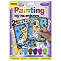Royal Brush My First Paint by Number Kit, 8.75 by 11.375-Inch, 2-Pack