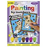 """Royal Brush MFP2-01 My First Paint by Number Kit, 8.75 by 11.375"""", 2 Pack"""