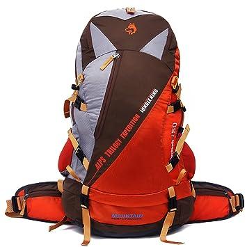 Jungle King 50L resistente al agua senderismo Camping Mochila con protector de lluvia correr Ciclismo al aire libre de 1601, amarillo: Amazon.es: Deportes y ...