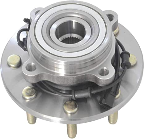515122 Front Wheel Bearing and Hub Assembly for 2009 2010 Dodge Ram2500 3500 4WD 2011 Ram 2500 3500 4WD