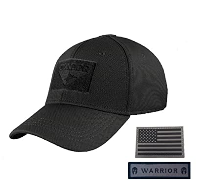 Amazon.com  Condor Flex Tactical Cap (Black 66da424e666