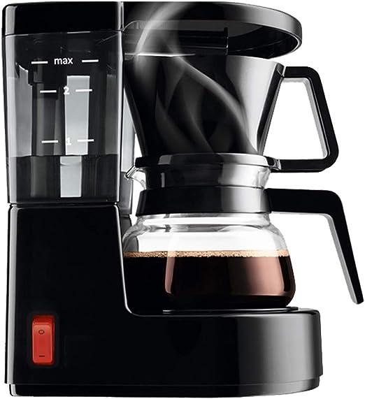 LTLWSH Máquina de Café, Mini 500W Cafetera de Filtro con Filtro ...
