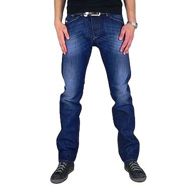 b71df9ae Diesel - Men's Jeans Darron 74W - Regular Slim - Tapered - Non Stretch:  Amazon.co.uk: Clothing