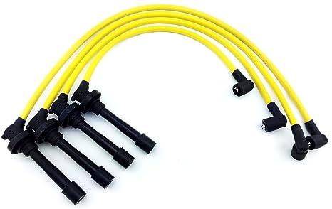 92 – 00 – Bobina de encendido Bujía alambre cables Set 10.2 mm Honda Civic DelSol