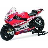 New Ray Toys Street Bike 1:12 Scale Motorcycle - Ducati MotoGP Nicky Hayden 57073