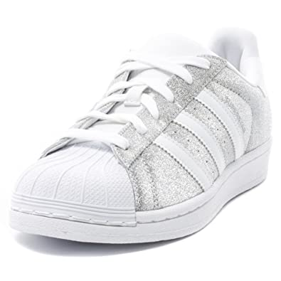 adidas Superstar Glitter Womens Trainers  Amazon.co.uk  Shoes   Bags eefe9af406