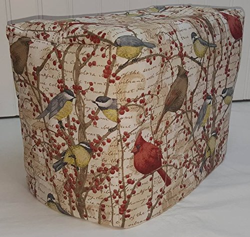 2 or 4 Slice Toaster Cover (2 Slice, Birds & Berries)