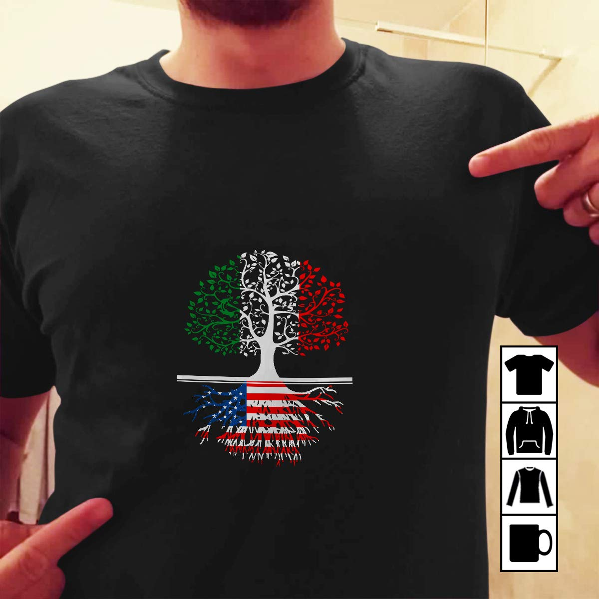 Amazon T Shirt Italy America Living In Italy With American Root