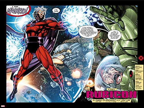 Jim Lee Art (X-Men No.1: 20th Anniversary Edition: Magneto Flying in Space with Energy Poster by Jim Lee 24 x 32in)