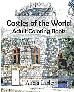 Castles of the World : Adult Coloring Book Vol.1: Castle Sketches ...