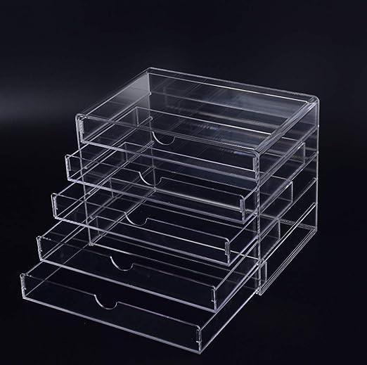 YUMUYMEY Acrílico Transparente Caja de colección de artículos ...