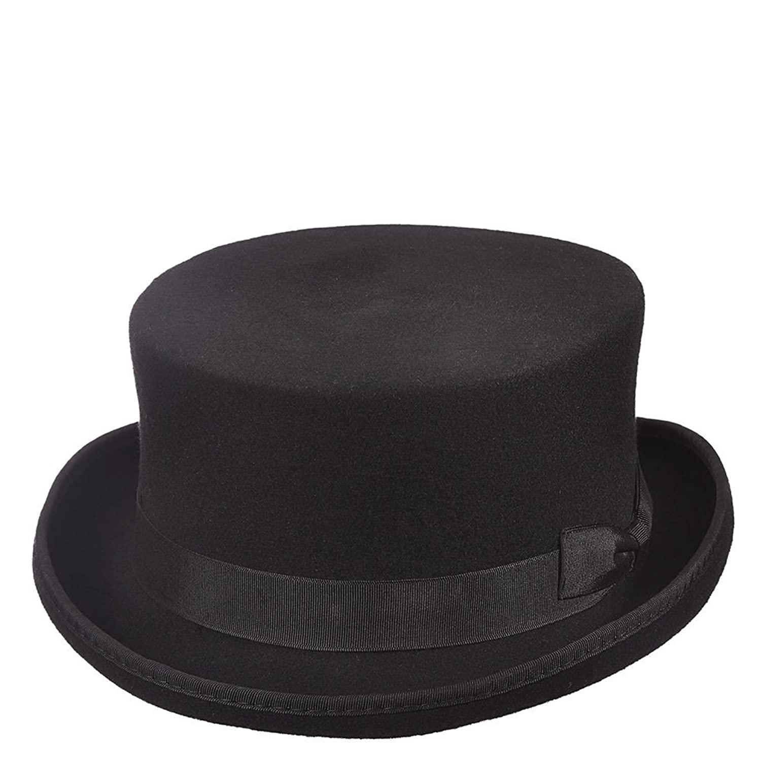 Deluxe Adult Costumes - Men's classic design wool felt Jacob Frye Syndicate short top hat.