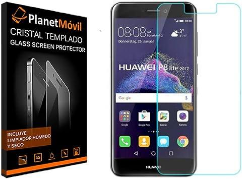 planetmovil® huawei p8 lite 2017 protector de cristal templado