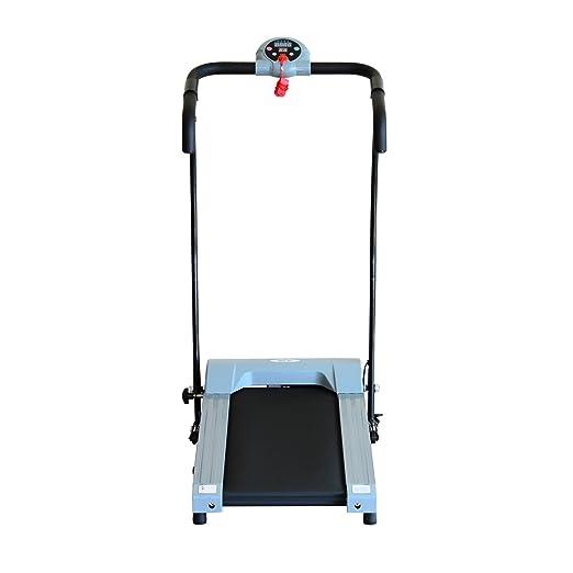 Máquina de correr eléctrica con pantalla LCD, plegable, 0,6 ...