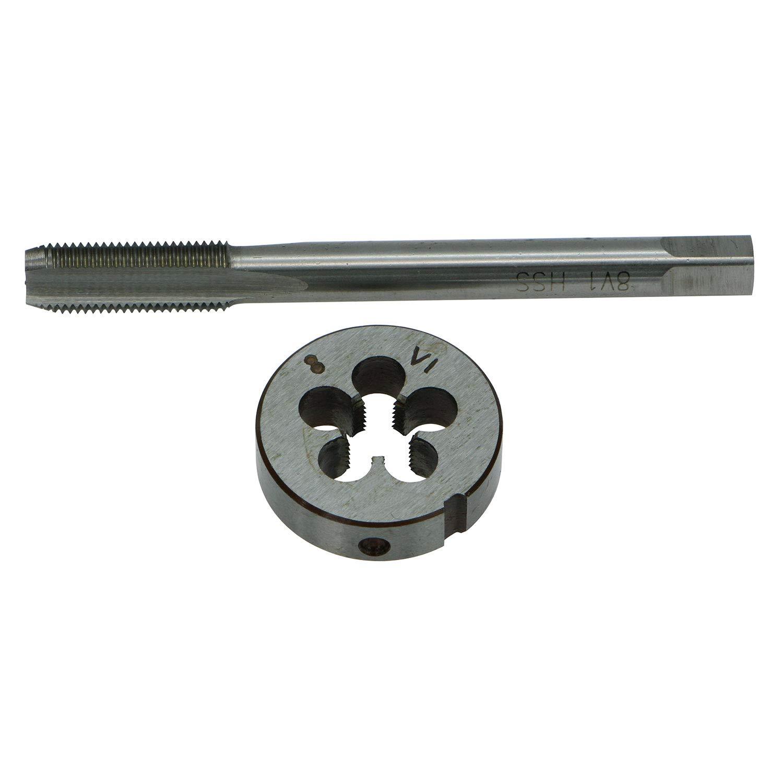 .305x32 GZTool 0.305-32 TPI 8V1-32 Schrader Tyre//Tire Valve Thread Tap and Die Set 0.305-32