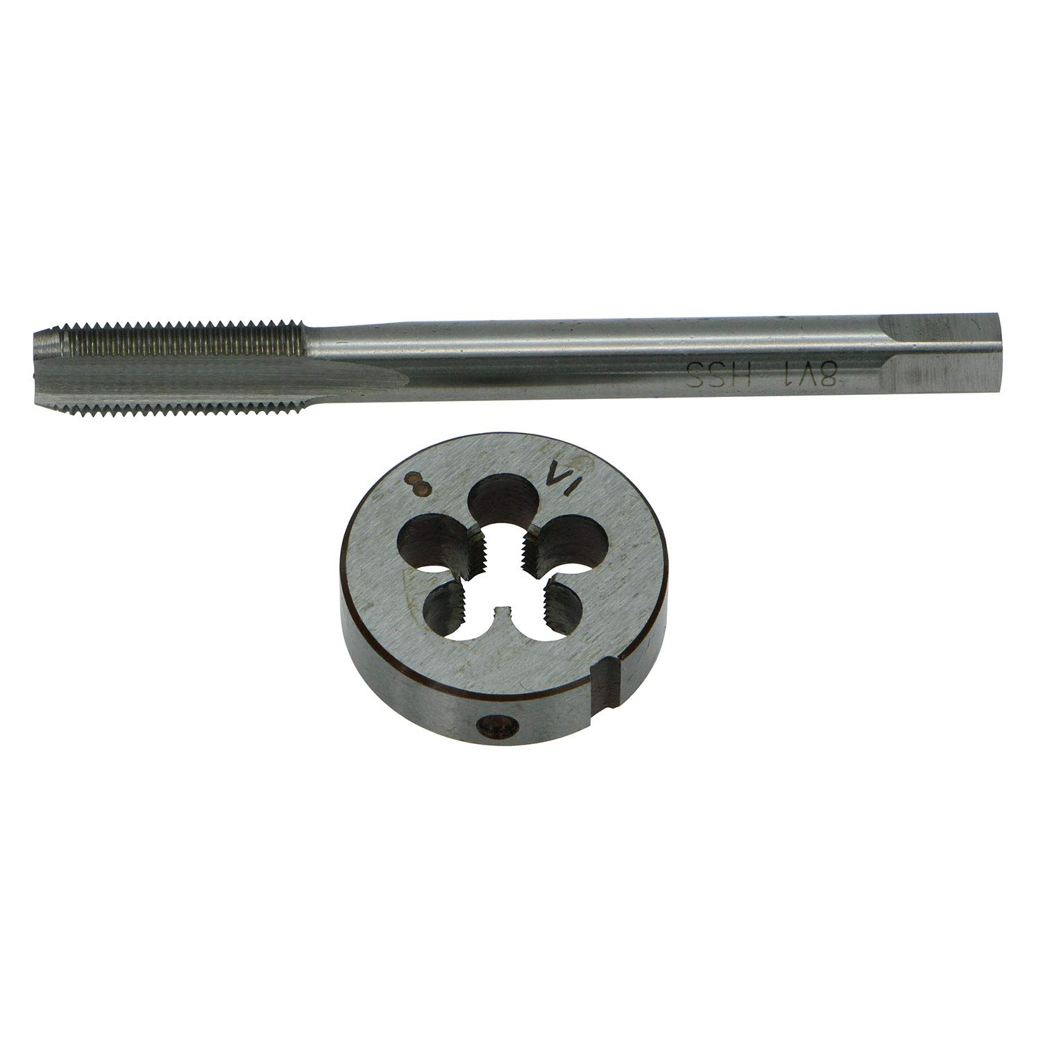 GZTool 0.305'' - 32 TPI 8V1-32 Schrader Tyre/Tire Valve Thread Tap and Die Set 0.305-32 (.305x32) by GZTool