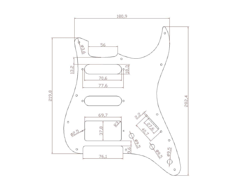 Kmise Z4910 アコースティックギターピックガード   B00RT8DZCQ