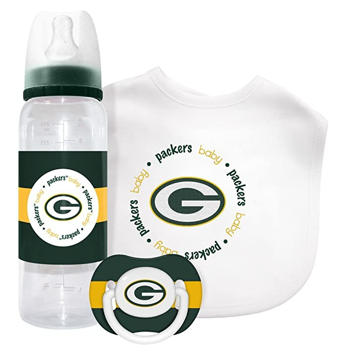 Amazon.com: NFL Green Bay Packers Baby Set de regalo: Sports ...