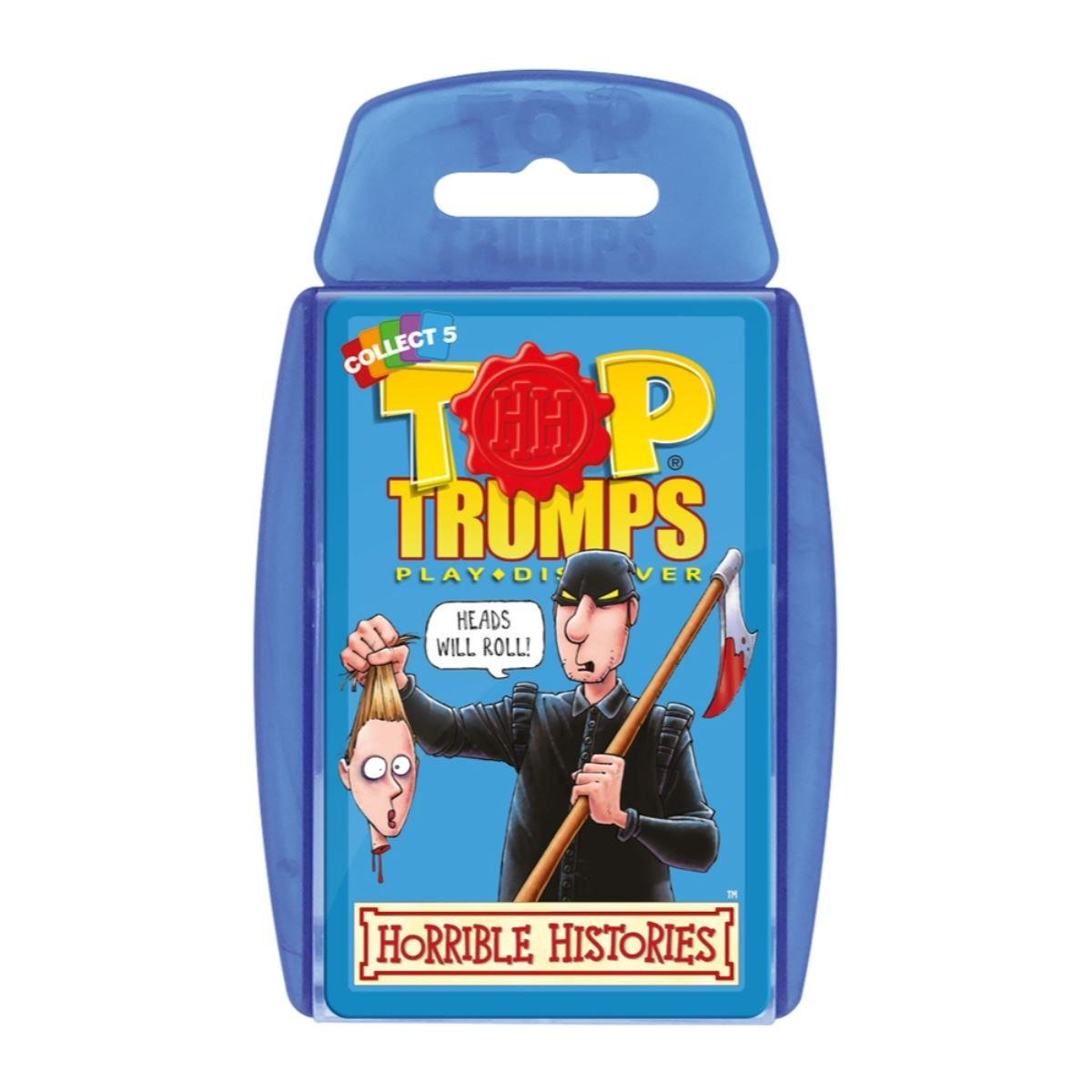 Horrible Histories Top Trumps Card Game