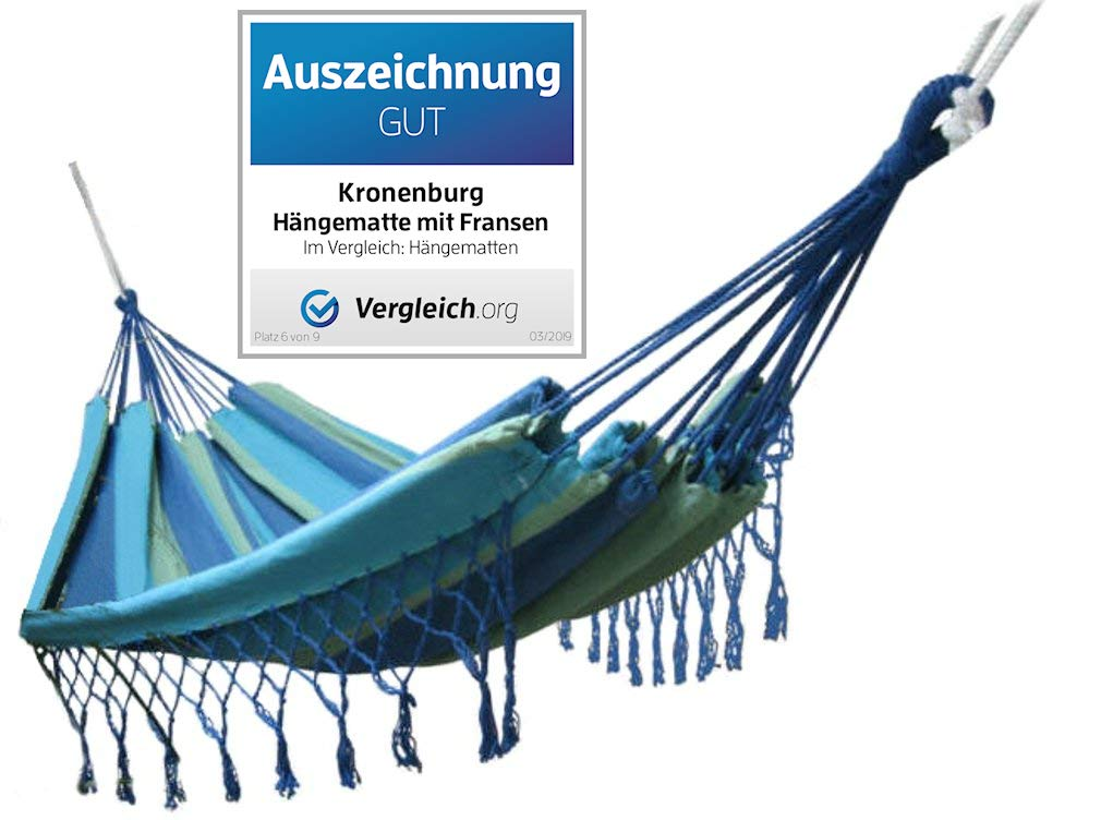 Kronenburg Handel Amaca con frange 320x160 cm