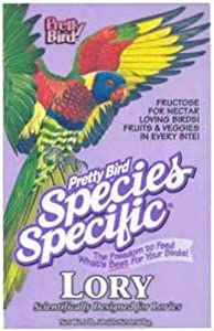 Pretty Bird International Bpb78315 8-Pound Species Specific Special Lory Food With Fructose For Bird