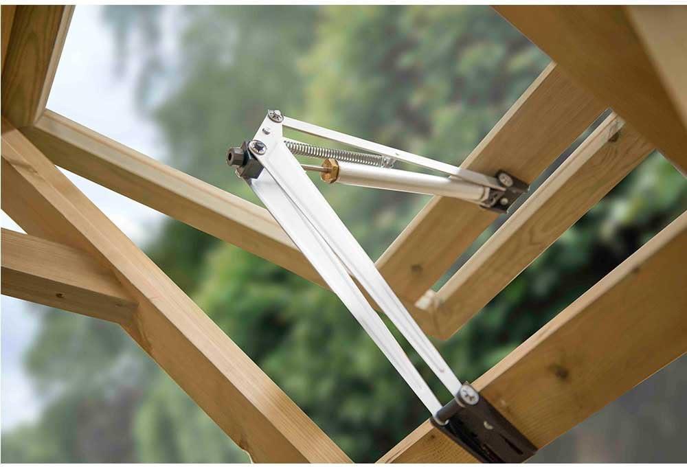 Vale Traditionelle ger/äumiges 6/x 4/geh/ärtetem Glas Gew/ächshaus Druck behandelt Holz