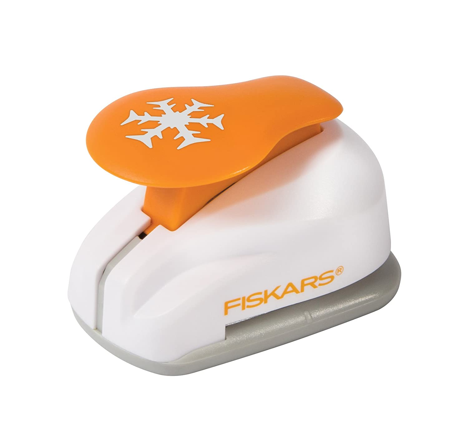 Amazon fiskars snowflake lever punch medium mightylinksfo