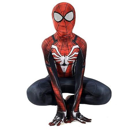 ZHANGQI The Avengers Superhero Spiderman Cosplay Traje De ...