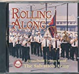 img - for Rolling Along Household Troops Band of the Salvation Army : Songs - Cairo Red Shield; I'd Rather Have Jesus; Washington Salute; Thank You Lord; Army of God; Shining Star (1977 Music CD) book / textbook / text book