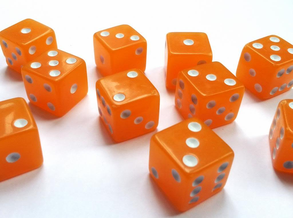Huge Las Vegas Craps Felt 6ft By 3ft Pair Of Orange Dicecraps