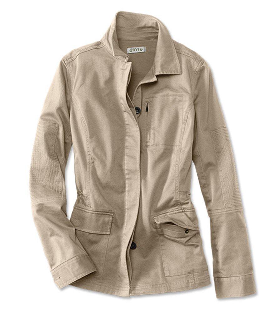 Orvis Women's Moonlight Pines Jacket, Khaki, Small