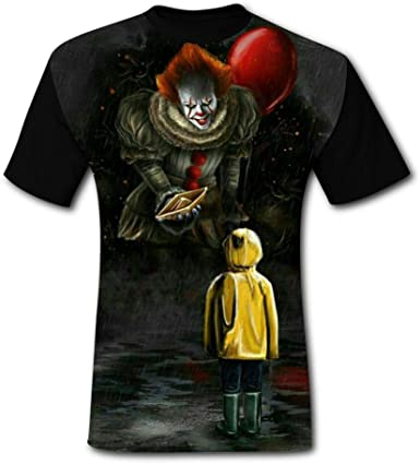 Evil Penny-Wise Balloon Kids T-Shirts Short Sleeve Tees Summer Tops for Youth//Boys//Girls