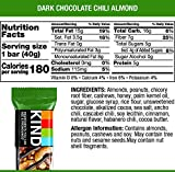 KIND Bars, Chocolate Chili Almond, Gluten Free, Low Sugar, 1.4oz, 4 Count