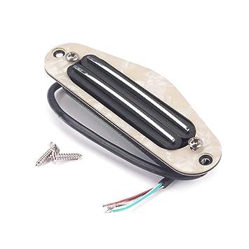 Dolity Doble Pastillas Golpeadores Humbucker Pickup para Guitarra Eléctrica Caja de Puros: Amazon.es: Instrumentos musicales