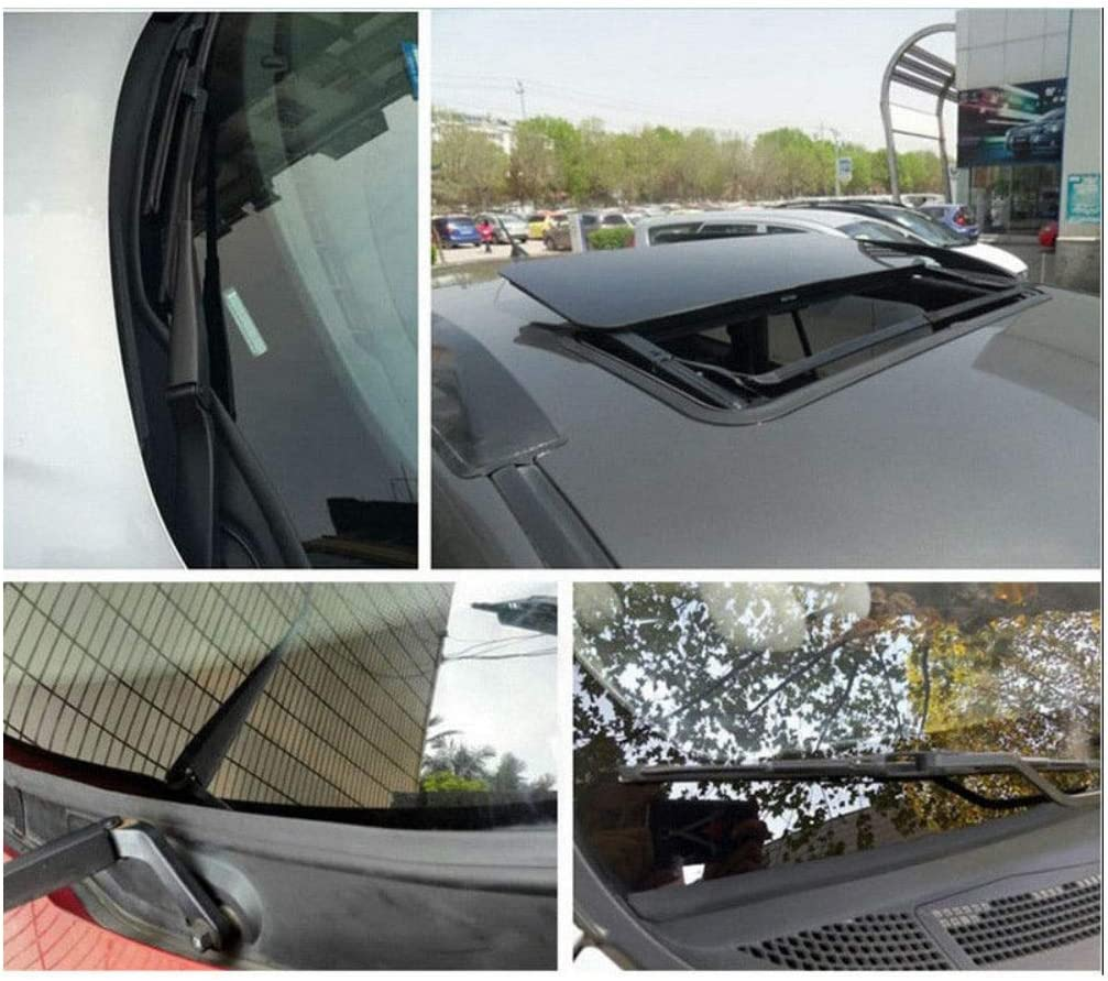 5M Rubber Seal Strip Trim Car Front Rear Window Door Abnormal Noise Weatherstrip