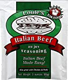 Louies Seasoning Italian Beef Au Jus Seasoning - 24 Packets (3 oz ea)