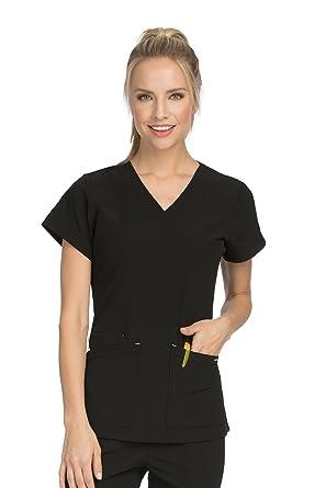 487d35825eb Amazon.com: Med Couture Women's 'Air Collection' V-Neckline Sky High ...