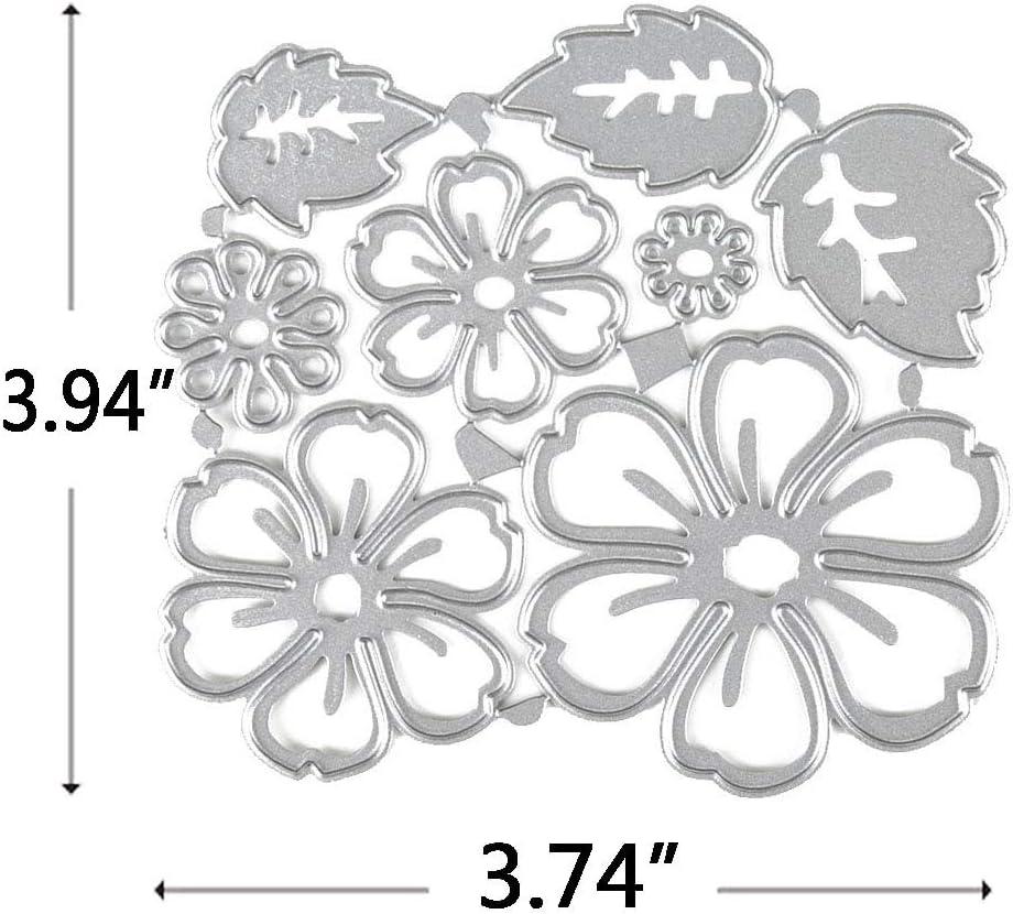 DIY Metal Cutting Dies Stencil Scrapbooking Paper Card Embossing Making Tools