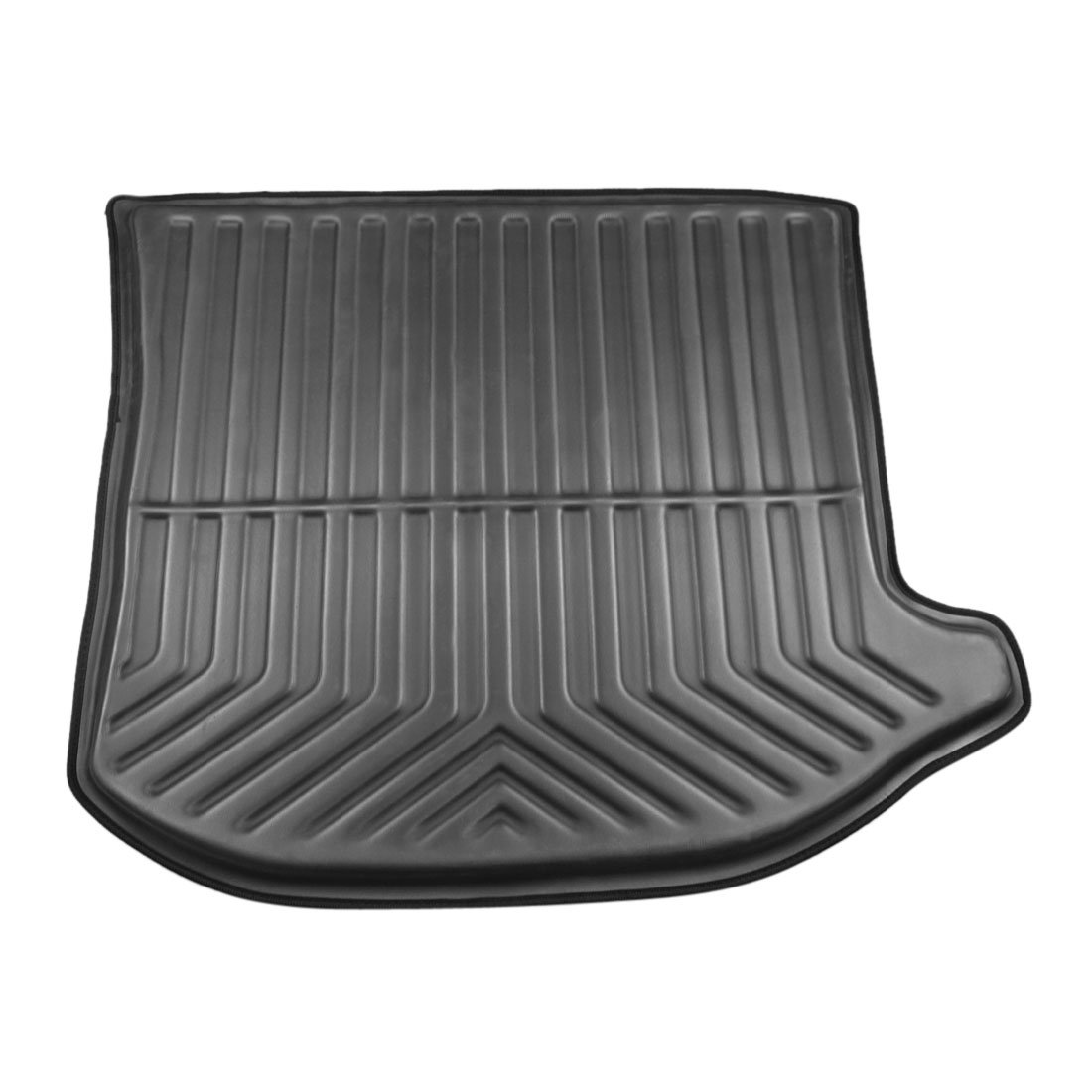 X AUTOHAUX Black Rear Trunk Boot Liner Cargo Mat Floor Tray for Jeep Grand Cherokee 13-17