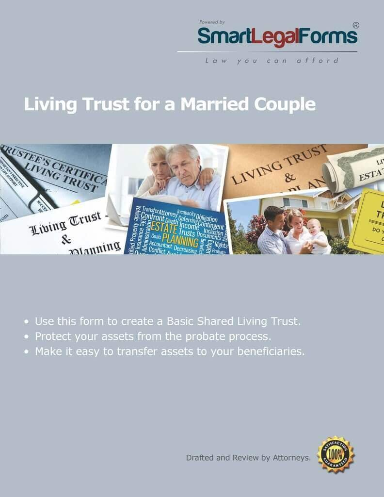 Living Trust for a Married Couple [Instant Access] by SmartLegalForms, Inc.