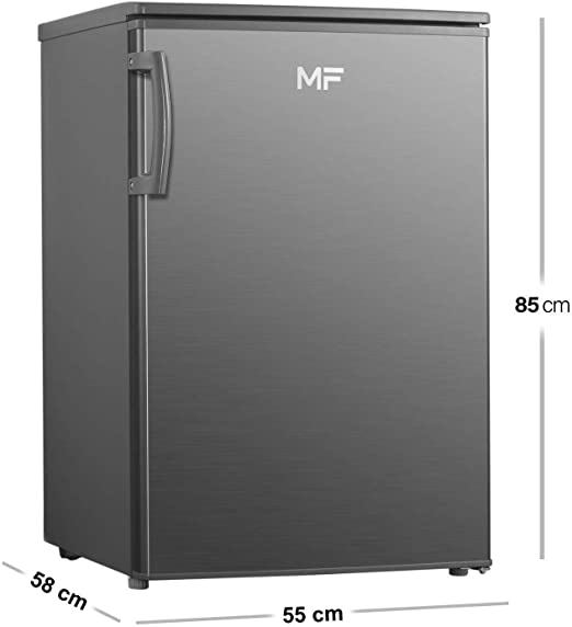 MF KSM9118A2WH - Frigorífico con congelador (118 L) Plata aspecto ...