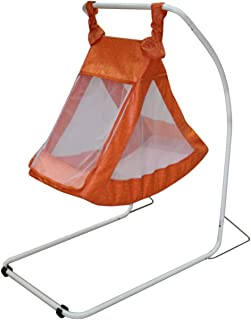 infanto star swing  orange  buy dot baby hammock stand  steel  online at low prices in india      rh   amazon in