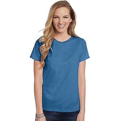 Hanes Women's T-Shirt at Amazon Women's Clothing store: